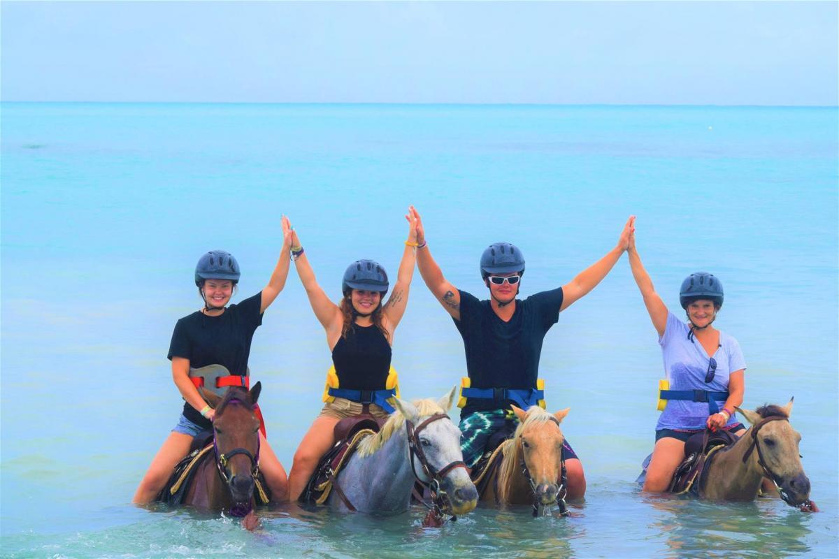 Horseback Ride & Swim